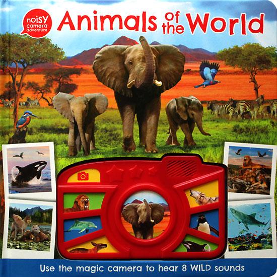 toko mainan online Animals of the World - Noisy Camera