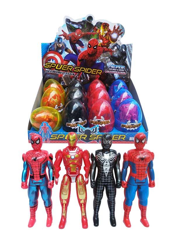 toko mainan online SUPERHERO EGG - JT1301/1501/2501/6009C
