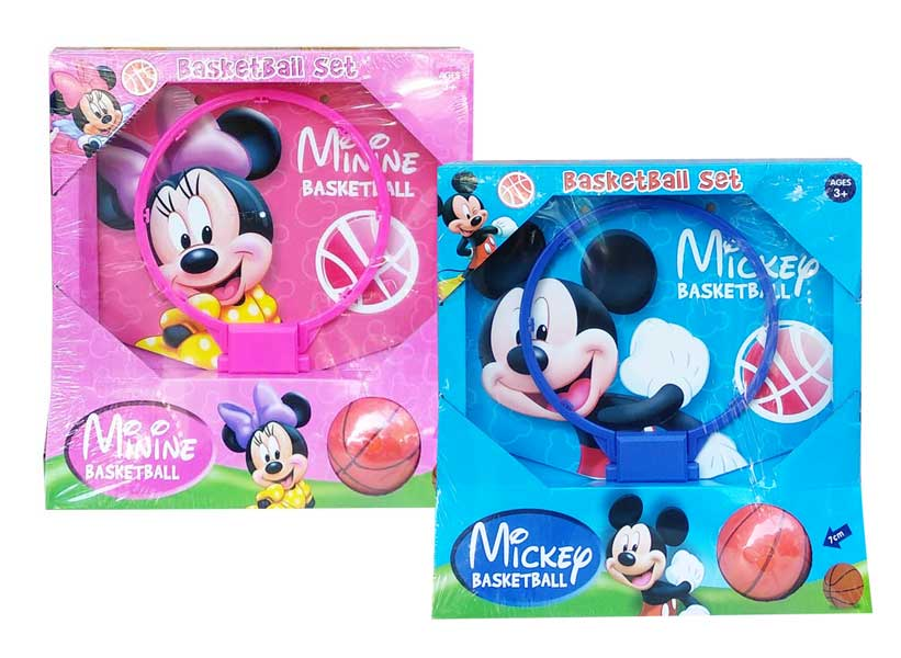 toko mainan online MICKEY MINNIE BASKETBALL - NB-03633/3453