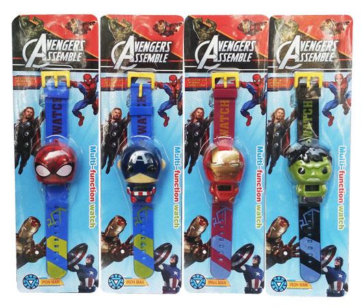 toko mainan online AVENGERS WATCH - 0899A-3