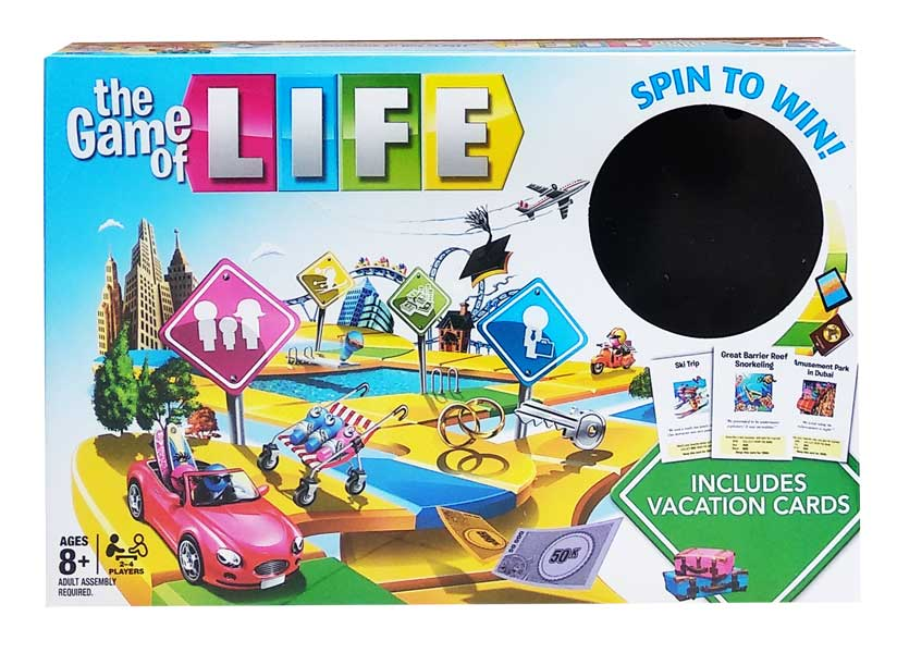 toko mainan online THE GAME OF LIFE - 5221Y