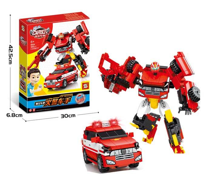 toko mainan online BLOCK CARBOT 585PCS - 9004