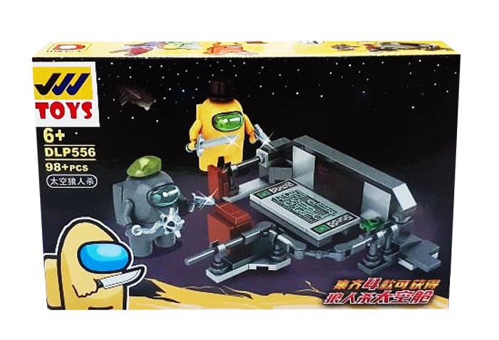 toko mainan online BLOCK AMONG US 98PC - DLP556-3