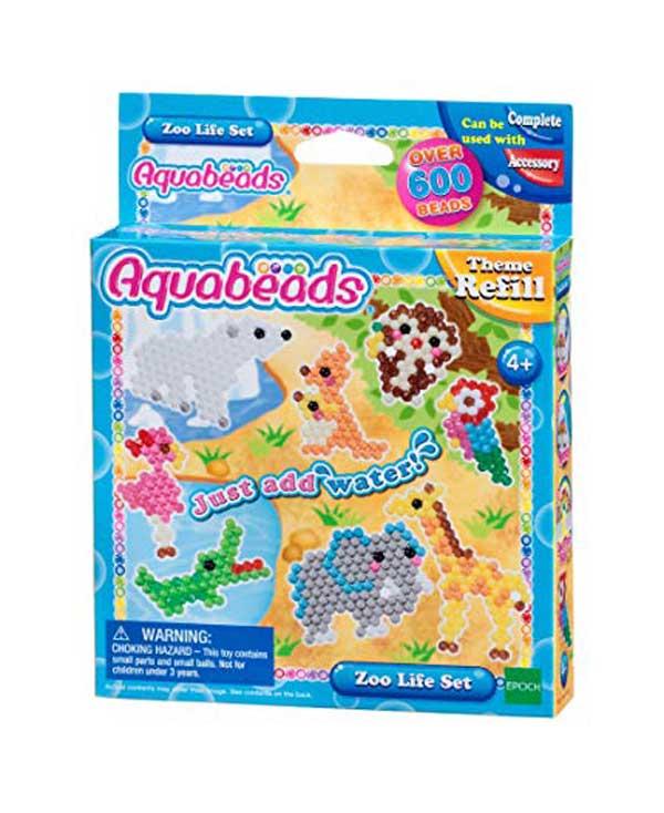 toko mainan online AQUABEADS ZOO LIFE SET REFILL - 31078