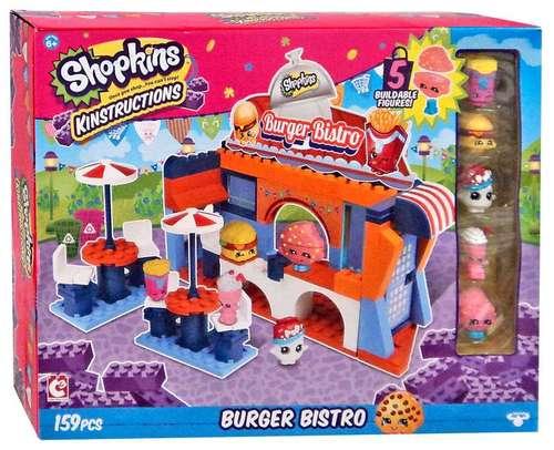 toko mainan online SHOPKINS BURGER BISTRO