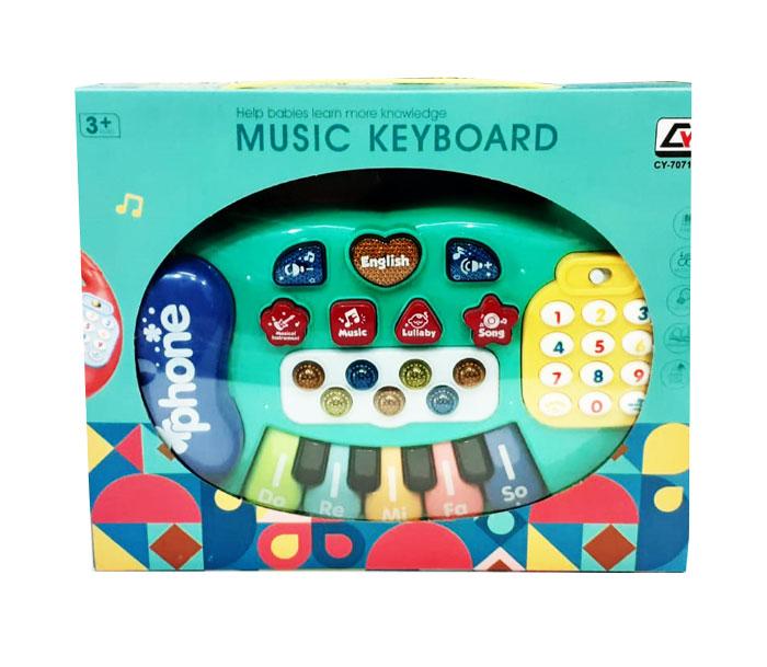 toko mainan online MUSIC KEYBOARD - CY-7071B