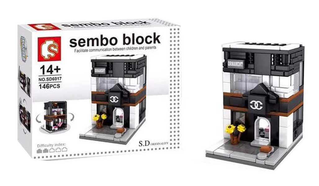 toko mainan online SEMBO ORNAMENT 146PCS - SD6017