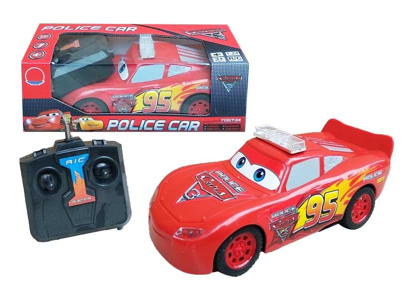 toko mainan online RC POLICE CAR MC QUEEN - 767-F23