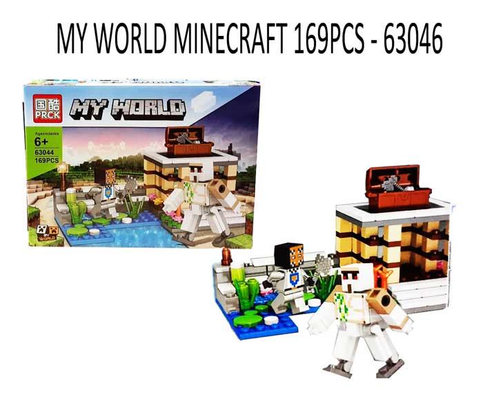 toko mainan online MY WORLD MINECRAFT 169PCS - 63044