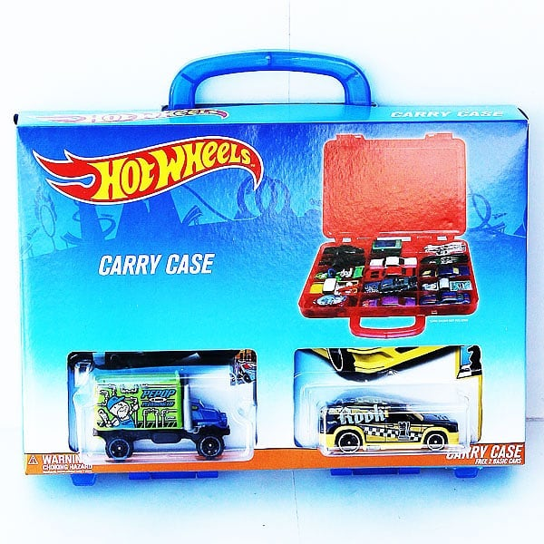 toko mainan online HOT WHEELS CARRY CASE - GJN72