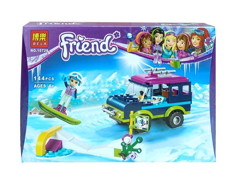 toko mainan online BELA FRIEND 144PCS - 10728
