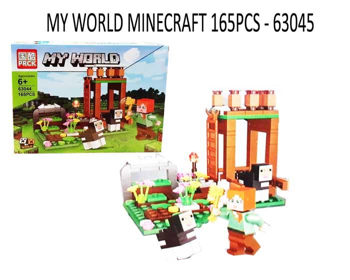 toko mainan online MY WORLD MINECRAFT 165PCS - 63044