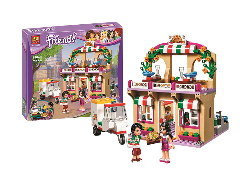 toko mainan online BLOCKS BELA FRIENDS 310PCS - 10609