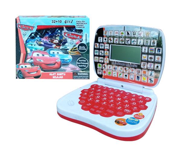 toko mainan online ALAT BANTU BELAJAR 4BHS LCD CARS- 789-L1
