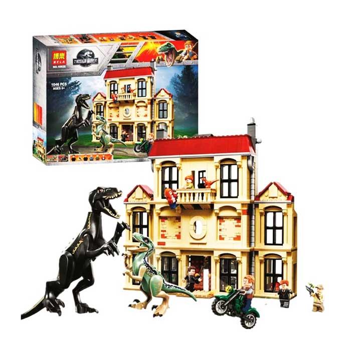 toko mainan online BELA DINOSAUR WORLD 1046PCS - 10928