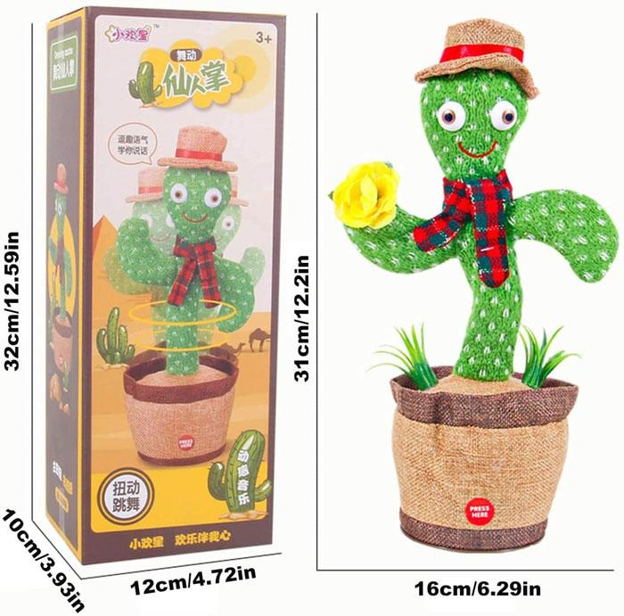 toko mainan online BONEKA KAKTUS GOYANG