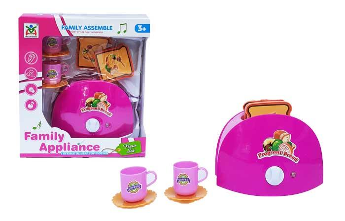 toko mainan online FAMILY APPLIANCE TOASTER - LS8822/03902