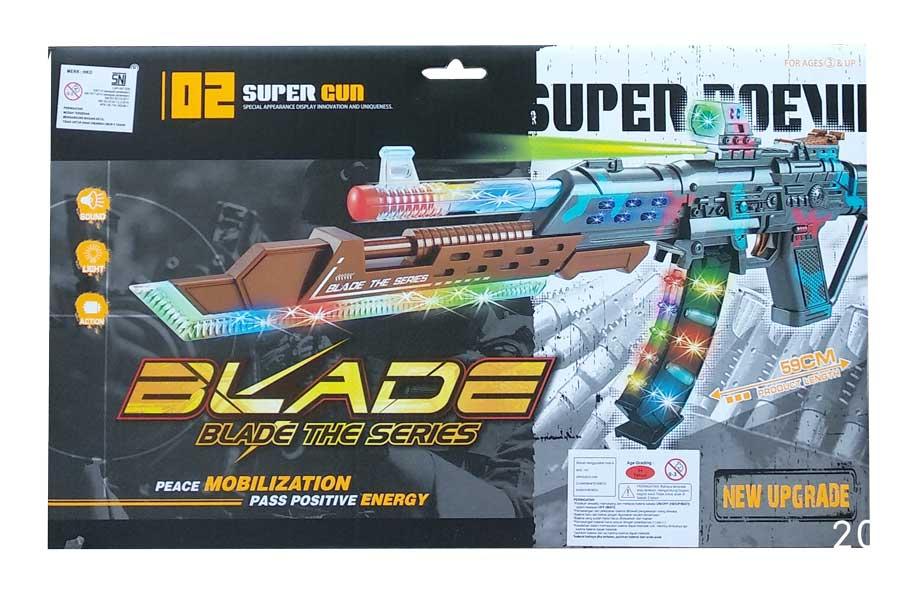 toko mainan online BLADE THE SERIES GUN - DF-27218B