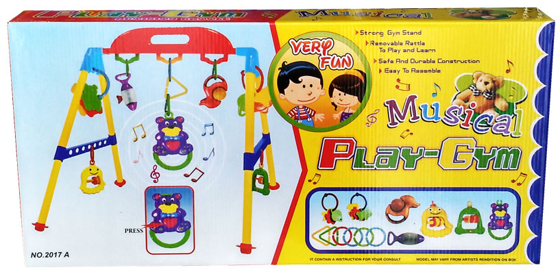 toko mainan online MUSICAL PLAYGYM LOKAL - 2017A