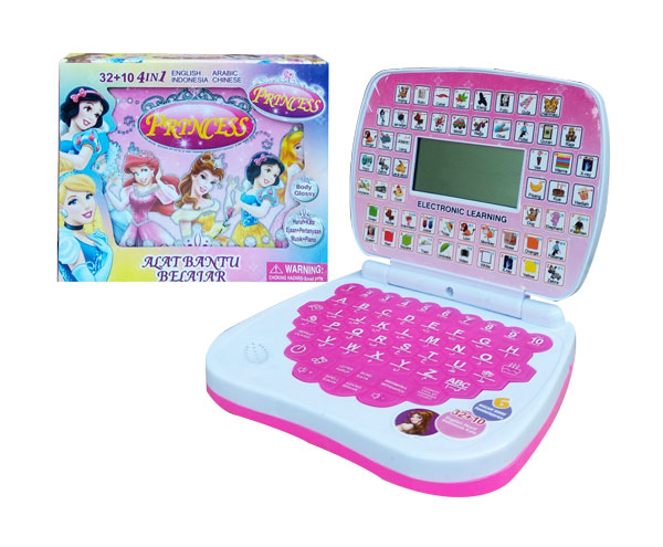 toko mainan online ALAT BANTU BELAJAR 4BHS LCD PRINCESS - 789-L1
