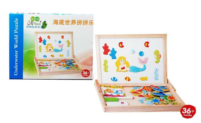 toko mainan online UNDERWATER WORLD PUZZLE - 95497