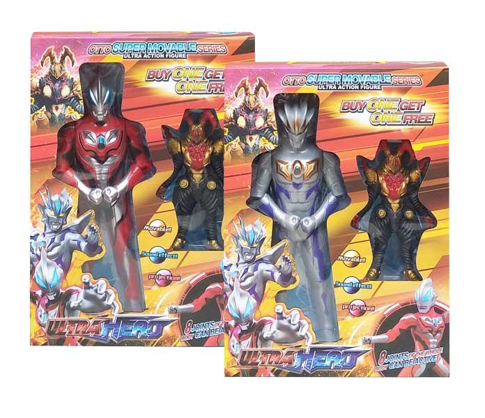 toko mainan online ULTRA HERO ULTRAMAN - 46788