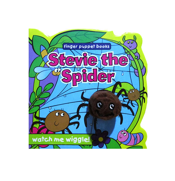 toko mainan online Stevie the Spider - Wiggly Finger Puppet
