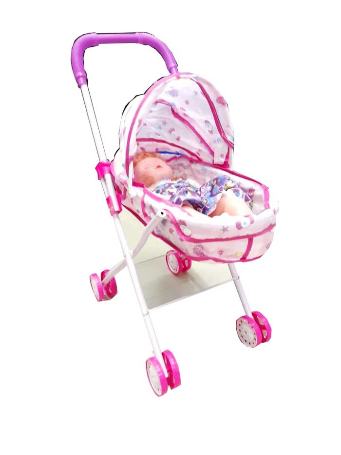 toko mainan online LOVELY BABY STROLLER - 6688