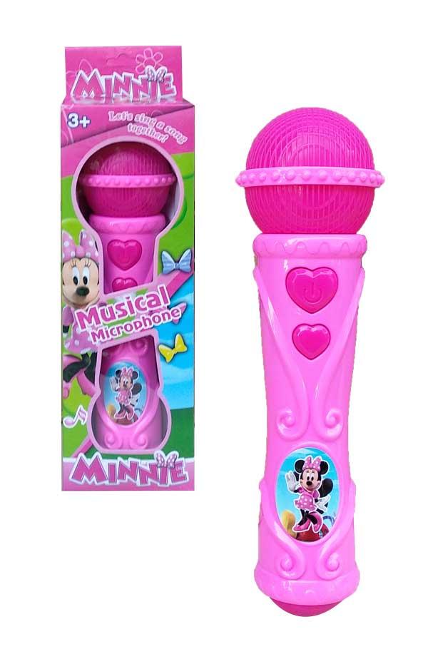 toko mainan online MUSICAL MICROPHONE MINNIE - NB-02833/317-5