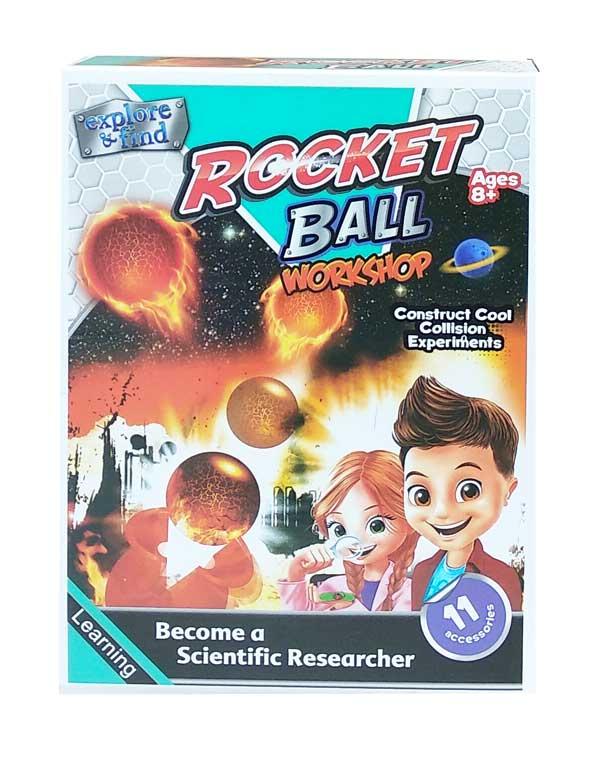 toko mainan online ROCKET BALL - 1018