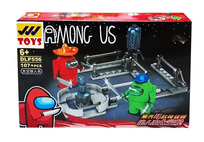 toko mainan online BLOCK AMONG US 107PC - DLP556-1