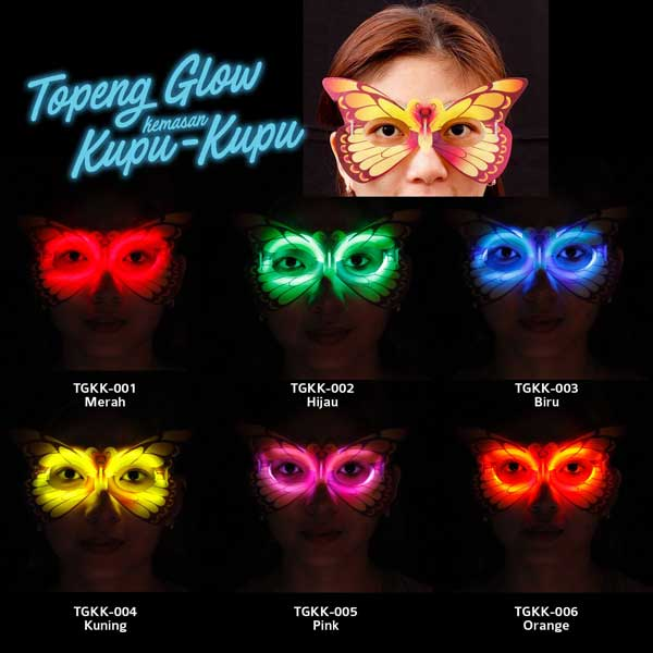 toko mainan online GLOW STIK - TOPENG - LC84