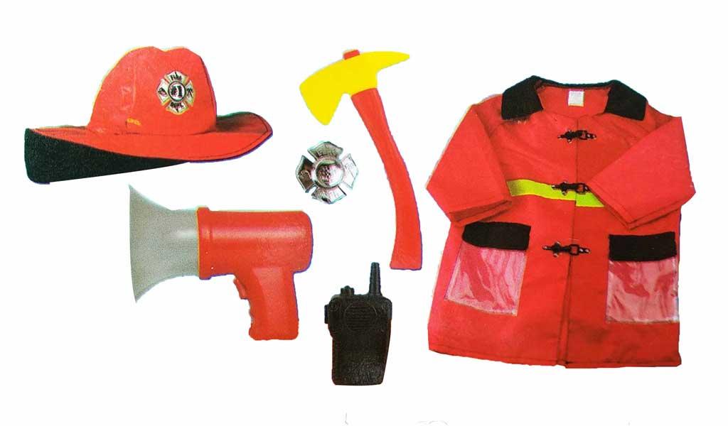 toko mainan online LESHENG FIREMEN COSTUME - 0951-5