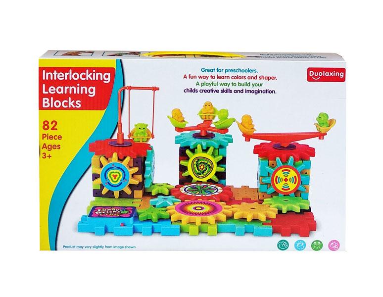 toko mainan online INTERLOCKING LEARNING BLOCKS - 1602
