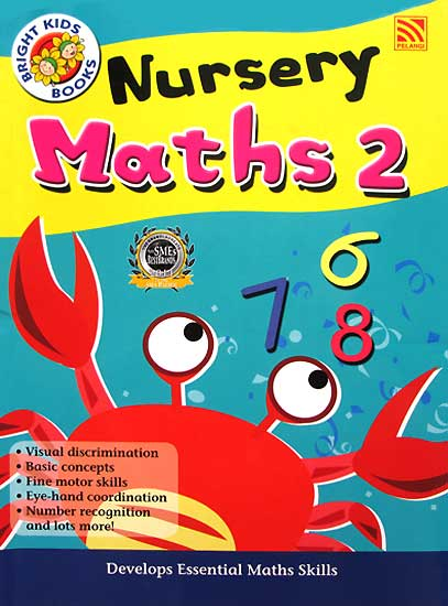 toko mainan online Nursery Math 2 Workbook Bright Kids Book