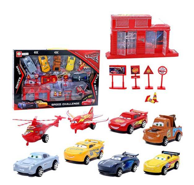 toko mainan online CARS SPEED CHALLENGE - 546-7D