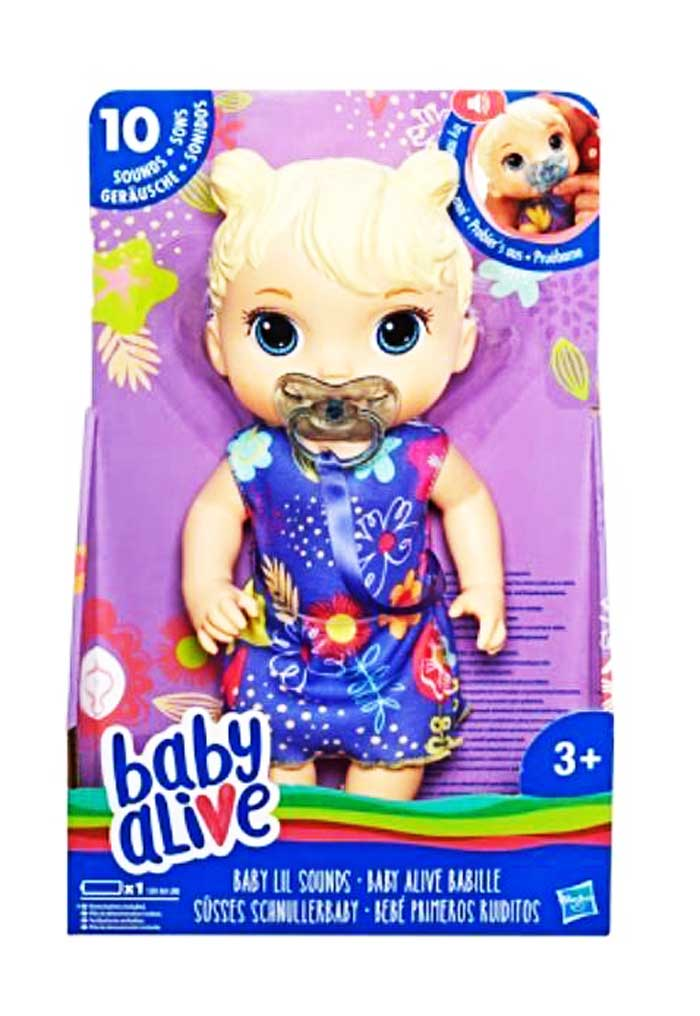 toko mainan online BABY ALIVE BABY LIL SOUNDS - E3690