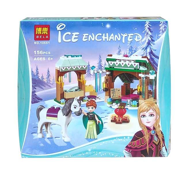 toko mainan online BELA ICE ENCHANTED 156PCS - 10661