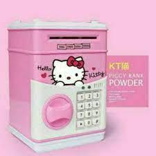 toko mainan online SAFE BANK DEPOSIT BOX HELLO KITTY - 66068
