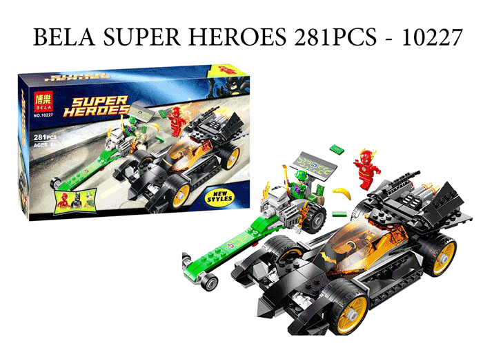 toko mainan online BELA SUPER HEROES 281PCS - 10227