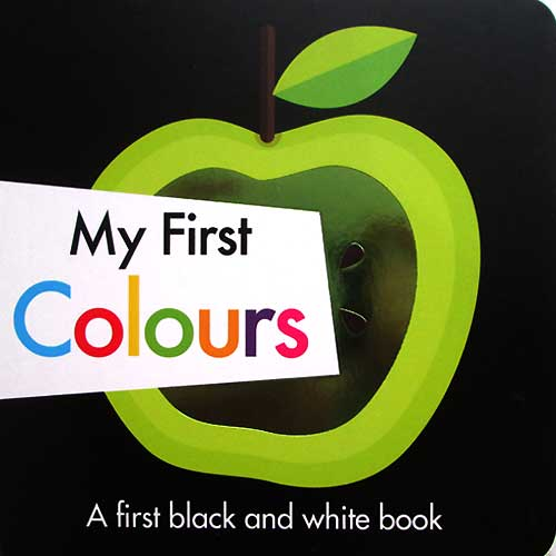 toko mainan online My First Colours - A first black and white