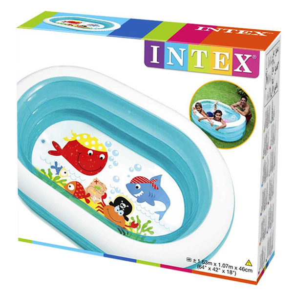 toko mainan online Intex whale 57482