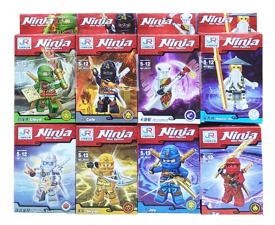toko mainan online BLOCKS NINJA RED ISI 8 - JR747 (gr16)