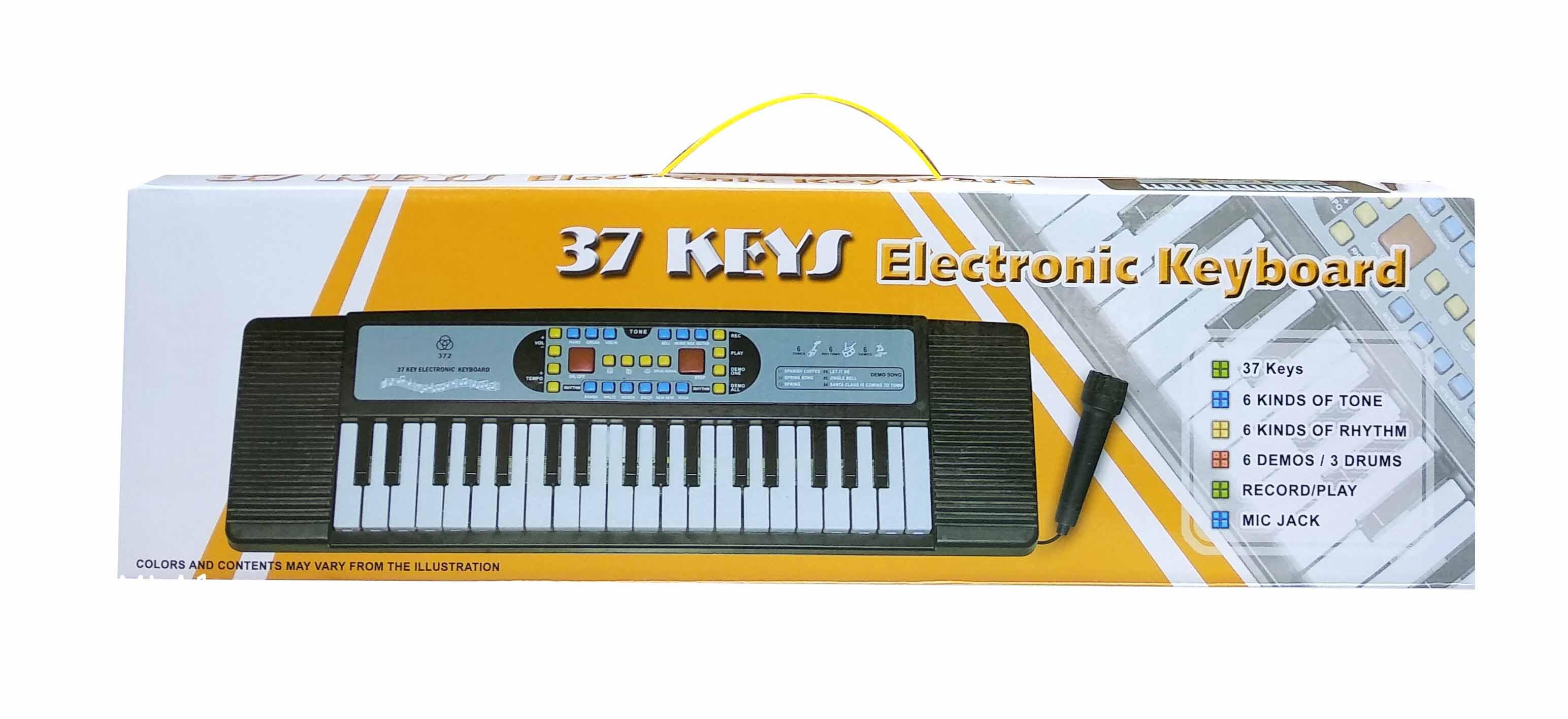 toko mainan online 37 KEYS ELECTRONIC KEYBOARD - 372
