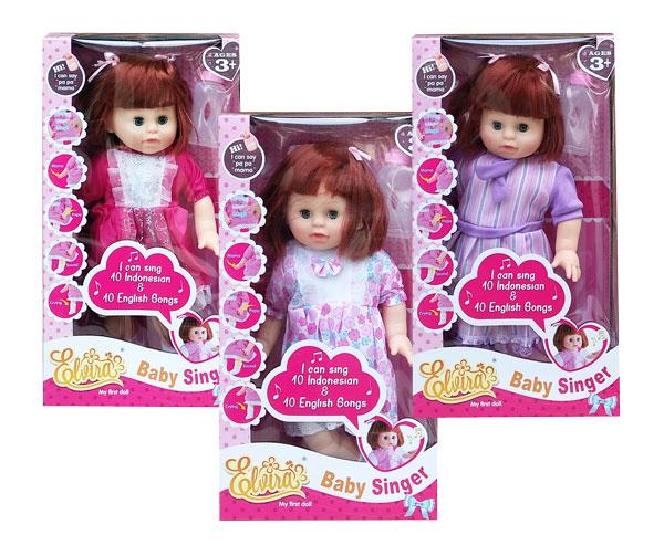 toko mainan online BABY SINGER ELVIRA - 818