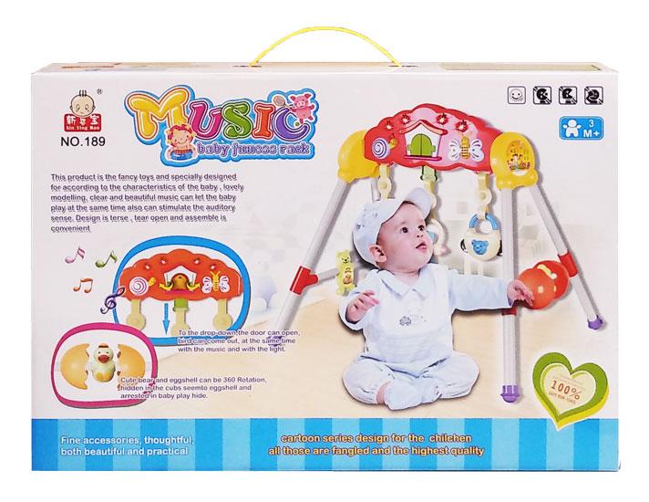 toko mainan online MUSIC BABY FITNESS RACK - 189
