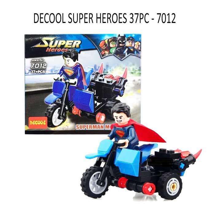 toko mainan online DECOOL SUPER HEROES 37PC - 7012