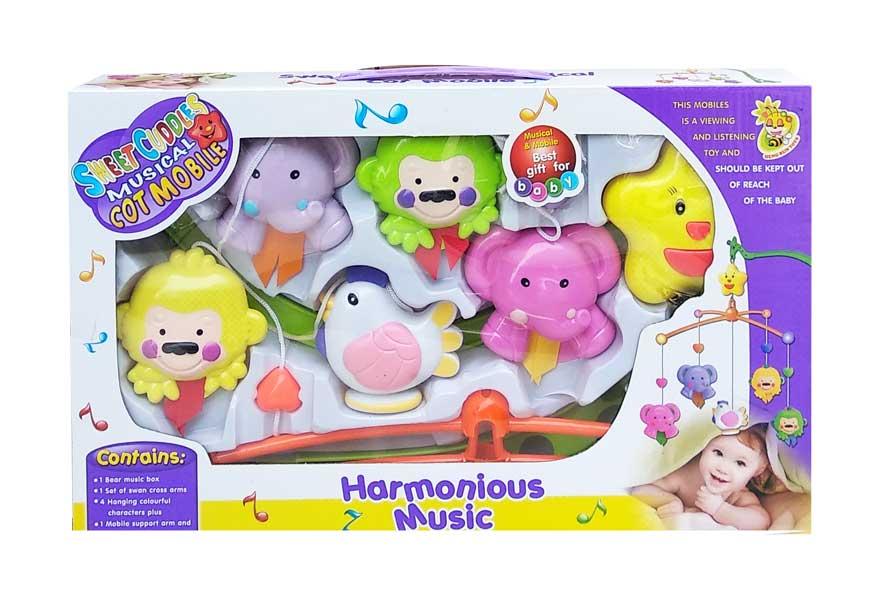 toko mainan online HARMONIUS MUSICAL MOBILE - D029