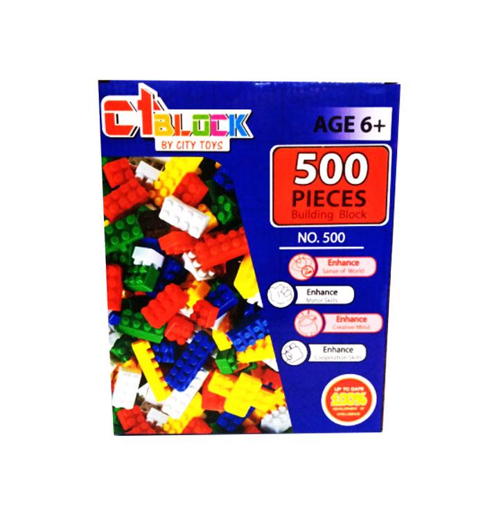 toko mainan online 500 PIECES BUILDING BLOCK