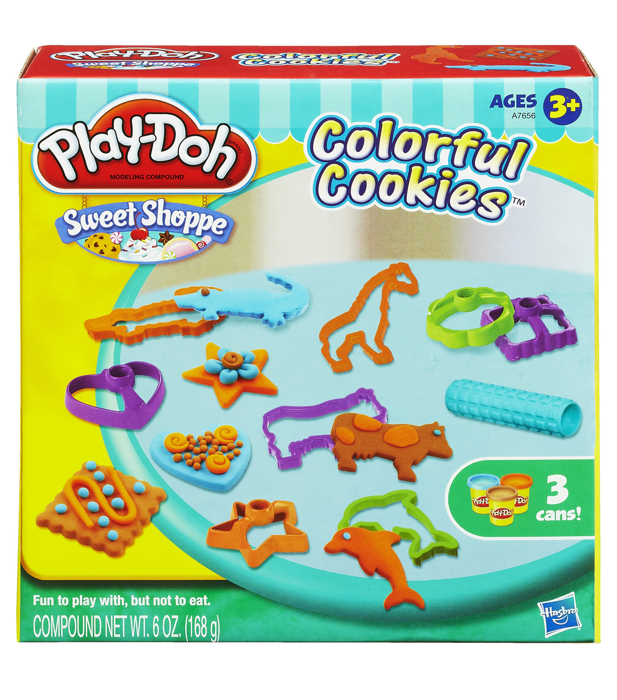 toko mainan online PLAY-DOH COLORFUL COOKIES - A7656
